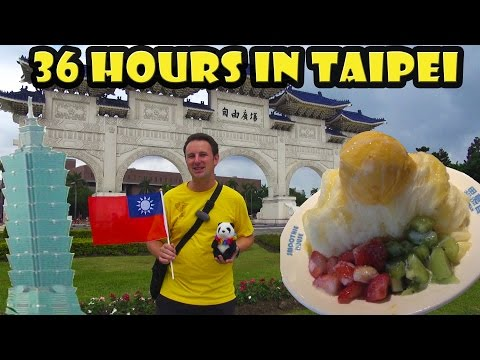 Best of Taipei Taiwan in 36 Hours