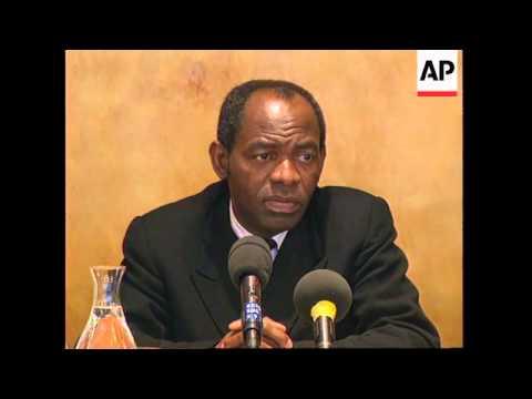 BELGIUM: FRANCOIS TSHIPAMBA MPUILA UDPS BENELUX PRESS CONFERENCE