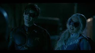 Dick Grayson and Dawn Granger ϟ Robin and Dove - Up [1x02]