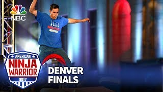 Ian Dory at the Denver City Finals - American Ninja Warrior 2017