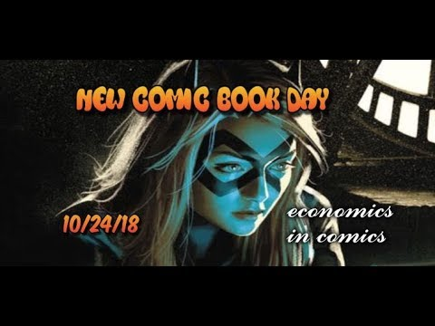 New Comic Book Day 10/24/18  Early Look at New Comics For Next Week Marvel DC Comics