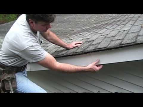 Aluminum Fascia Installed Wrong Youtube