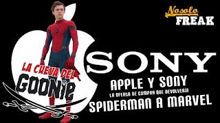 APPLE Y SONY la oferta de compra que devolveria SPIDERMAN A MARVEL