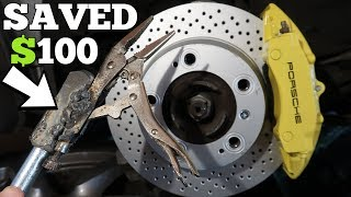 Cheap Porsche Owner Modifies Harbor Freight Tools to Fix his Salvage 911