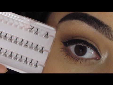 تركيب الرموش الفردية - Individual lash application 101
