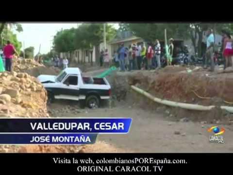 VIAJEROS COLEADOS Y CAMIONETA Al Vacio Colombianadas