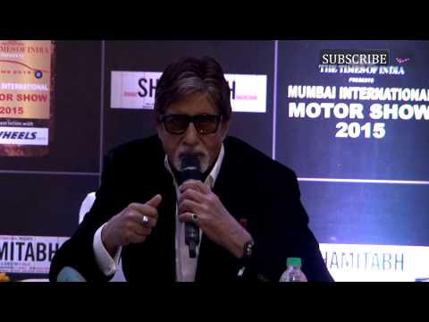 Mumbai International Motor Show 2015 | Amitabh Bachchan inaugurates this year's MIMS | Part 2