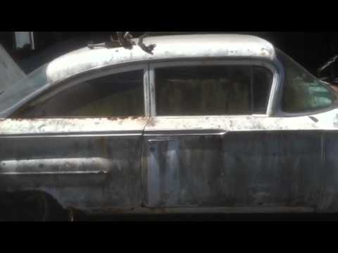 1960 Chevy Barn Find starting up after 30 years of storage