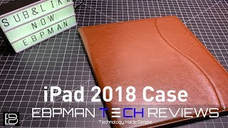 New iPad Pro 2018 Case with Pencil Charging Support