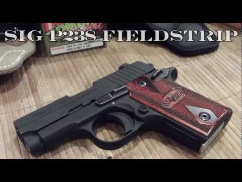 Sig Sauer P238 and P938 Field Strip