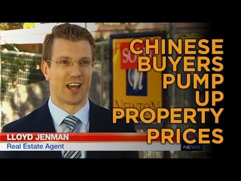 Chinese Buyers Pump-up Property Prices