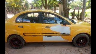 ឡានលក់ $3,500 Kia Rio 2011 សៀមរាប Tel 096 898 2488 Cambodia car price