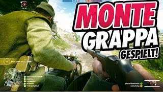MONTE GRAPPA | Alpen Karte Multiplayer Gameplay - Battlefield 1