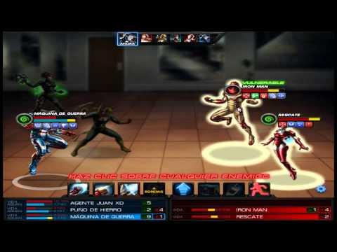 Estrategia 2 para Pre-PVP (JCJ) Beta en Marvel Avengers Alliance