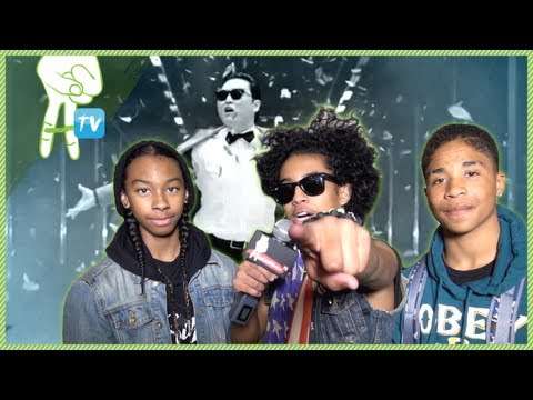 Gangnam Style with Mindless Behavior - Vlog of Awesomeness