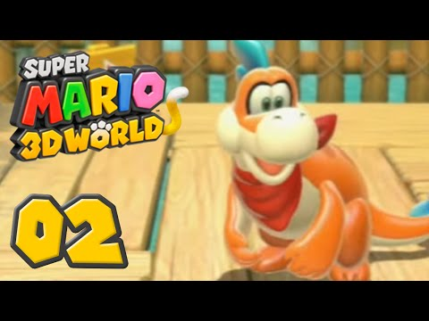 Super Mario 3D World : Baignade avec Plessie ! | Episode 2 - Let's Play Fr par PlaySilver
