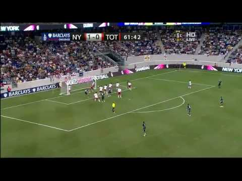 New York Red Bulls 1 - 2 Tottenham [ Goals & Highlights ] Video
