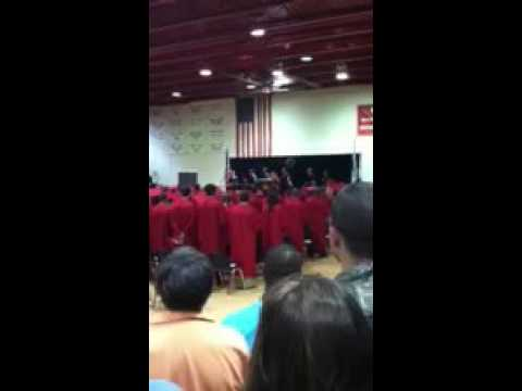 Annie College Graduation National Anthem