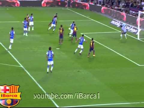 Amazing Tiki Taka by Messi, Xavi, Iniesta and Neymar | FC Barcelona vs Real Sociedad