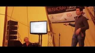MYKEL HAWKE & RUTH ENGLAND at The Bushcraft Show