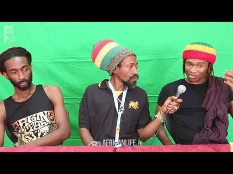 Videointerview, Raging Fyah @ Reggae Jam 2014, 01.-03.08. Bersenbrück