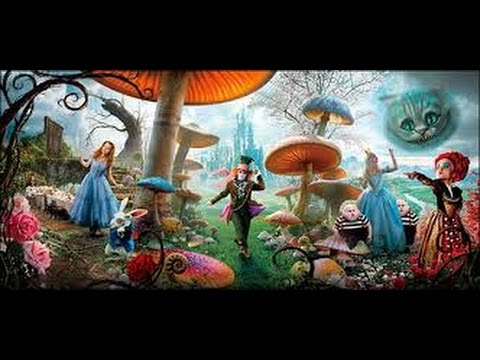 Animation Movies Full Movies English - Alice In Wonderland (2010) - Animation Movies For Kids video