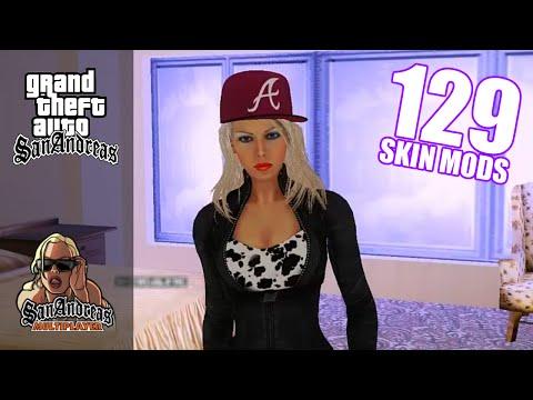 [DOWNLOAD] GTA San Andreas » 129 Skin Mods