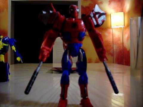 Transformers Marvel Crossovers Spider-Man