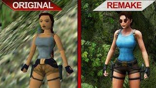 SBS Comparison | Tomb Raider II vs. Tomb Raider II Remake (The Dagger of Xian) | 2017 | ULTRA | PC