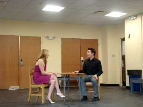 Serious - Legally Blonde:  Meggie Wittman and Carson Ross