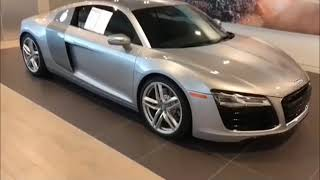 AUDI R8 2019 Walkaround with Interior Features