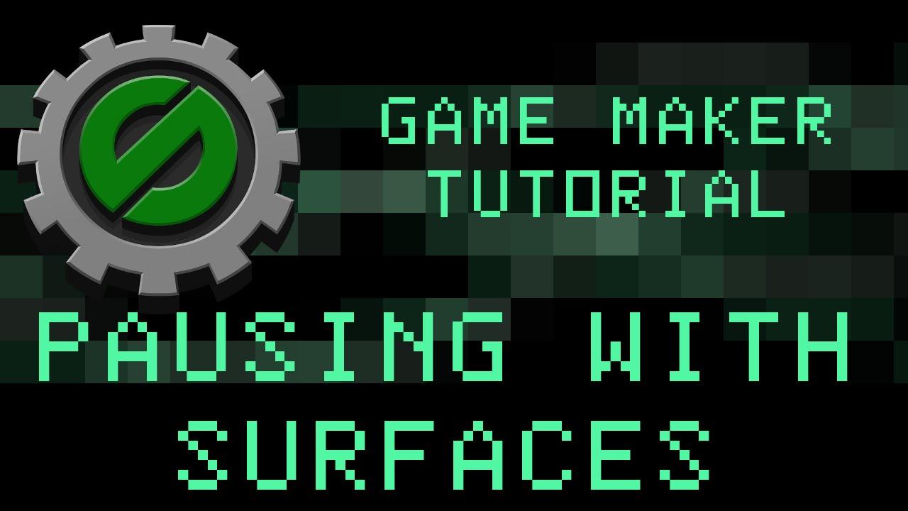 Menu Game Maker Game Maker Studio Pausing