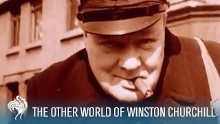 The Other World Of Winston Churchill   Official Trailer   British Pathé