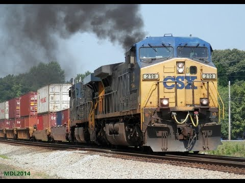 Railfanning CSX and Norfolk Southern (LaGrange, GA - Atlanta, GA) 6/18/2014 & 6/19/2014