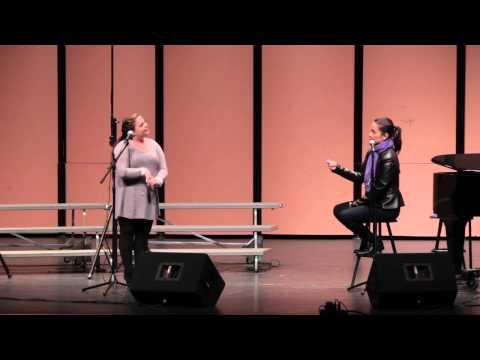 LibbyTofig sings Still Hurting Lea Salonga Masterclass