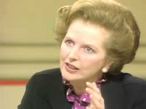 Margaret Thatcher on Nationwide questioned over the Belgrano