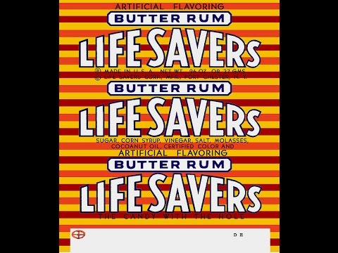 sAs SnackBrief: Lifesaver's Butter Rum (Old School Review)