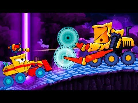 Машина ест машину Car Eats Car   Хищные машины #54 Прикольная игра про голодных крутых тачек #МК