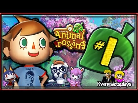 Animal Crossing New Leaf Walkthrough -  Part 1 The Dr moves in!