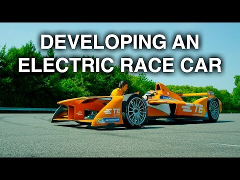 Developing An Electric Race Car - Formula E