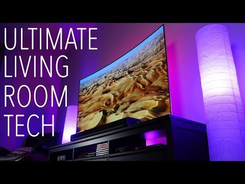 Ultimate Living Room Tech Setup Tour!