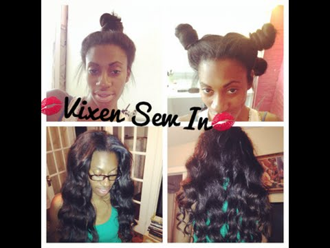 Vixen Sew-In - DIY At Home ft. Bliss Wigs (AliExpress)
