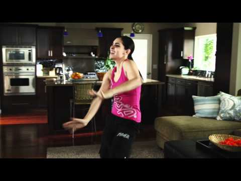 0 Official Zumba Fitness heart pumping HD sexy dance video trailer X360 kinect ...