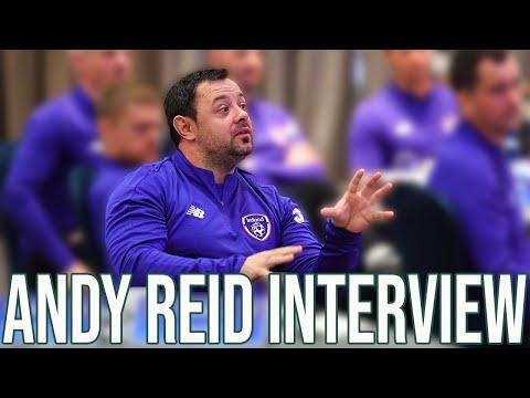 #IRLU18 INTERVIEW | Andy Reid 'loving it' as Ireland Under-18 Head Coach