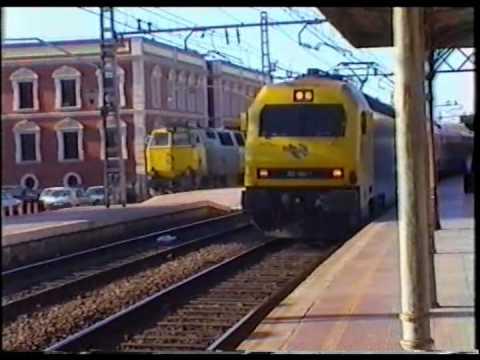 Estación Alcazar de San Juan, 2ªParte2/2 (El trafico)Dic1998