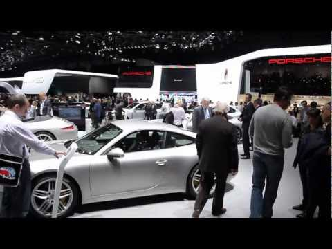 Geneva 2012: The new Porsche 911 Carrera Cabriolet