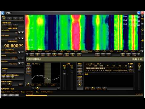 FM DX Sporadic E UNID Middle East RDS PI code 9084 11-5-2013 90.8 MHz