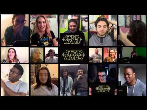 Star Wars Episode VII   The Force Awakens Official Teaser Trailer 1 Reaction Mashup
