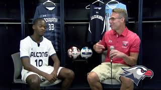 Lackawanna College Media Day 2019 Men Soccer's Sophomore Nick Anthony