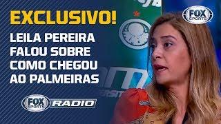 EXCLUSIVO! Leila Pereira conta detalhes do patrocínio master do Palmeiras